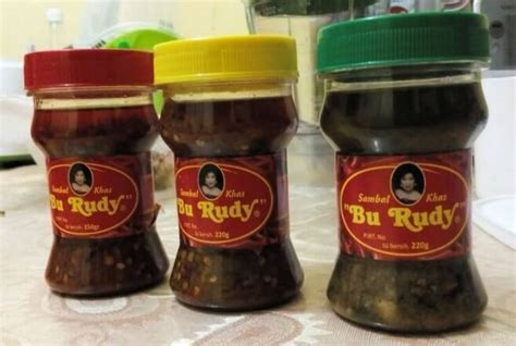 5 sambals that you can buy as souvenirs from indonesia