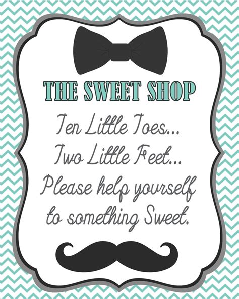 baby shower buffet sign template boy baby shower signs candystation created monarch