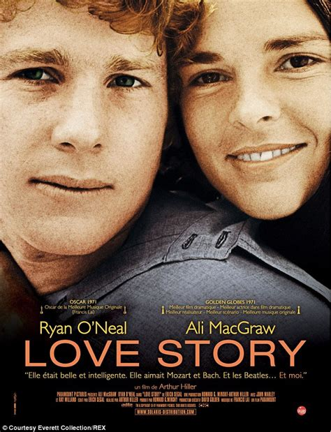 film love story love story s ali macgraw and ryan o neal reunite in nyc
