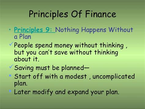 principle of finance with excel