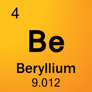element 4 beryllium science notes and projects
