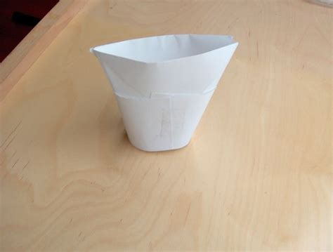Folded Paper Cup - how to make an origami cup