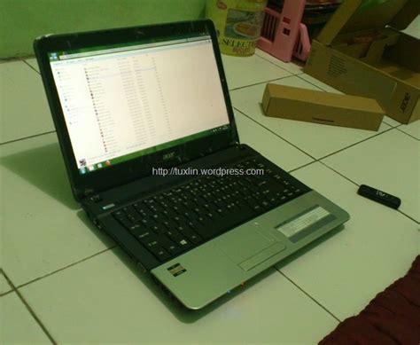 Laptop Acer Ukuran 14 Inci acer aspire e1 421 laptop 14 inci bertenaga amd apu e1 1200 tuxlin