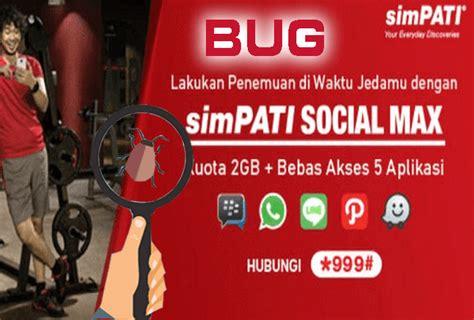 bug fb bbm telkomsel terbaru bug kuota chat fb dan bbm anonytun terbaru dan terbukti