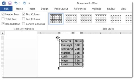 microsoft word change layout to two columns how to convert text to a table and a table to text in word