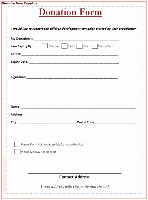 9 Charity Pledge Form Template Dtauw Templatesz234 Charitable Pledge Agreement Template