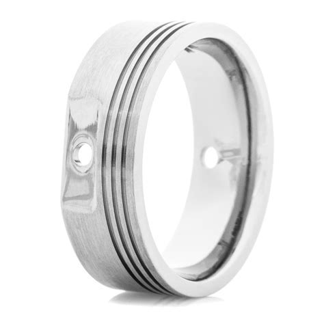 Men's Titanium Piston Head Ring   Titanium Buzz