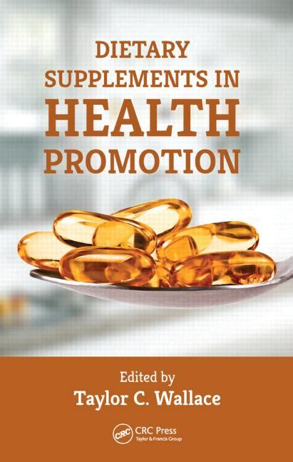 supplement book dietary supplements in health promotion crc press book