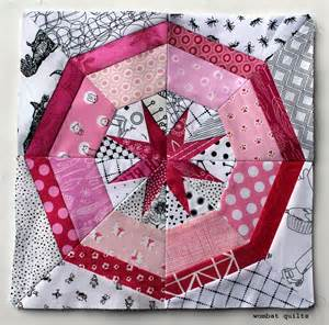 Free Paper Pieced Quilt Patterns by Free Foundation Piecing Pattern Wombat Quilts