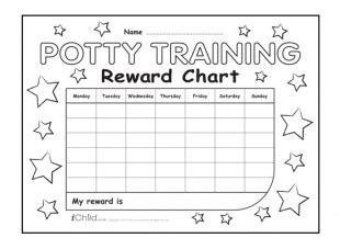 printable potty training reward chart uk 11 best images of black and white 30 sticker chart