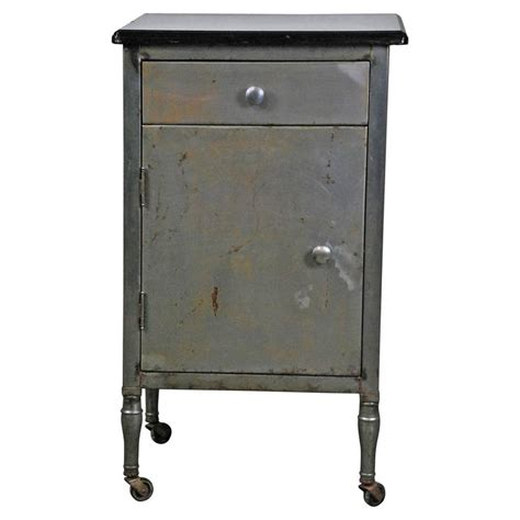 1930 simmons industrial side table cabinet at 1stdibs