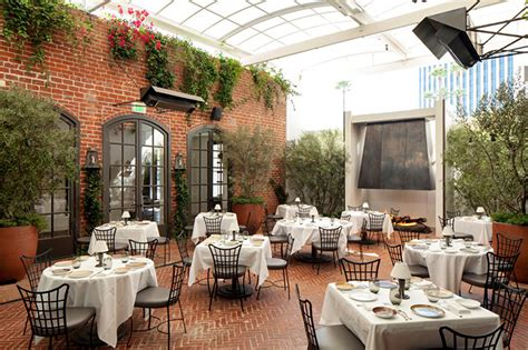 italian restaurants hill ca best outdoor dining restaurants in los angeles
