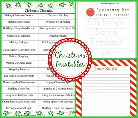 charades cards template themed crafts activities for