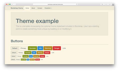 Bootstrap Themes Npm | bootstrap solarized theme npm