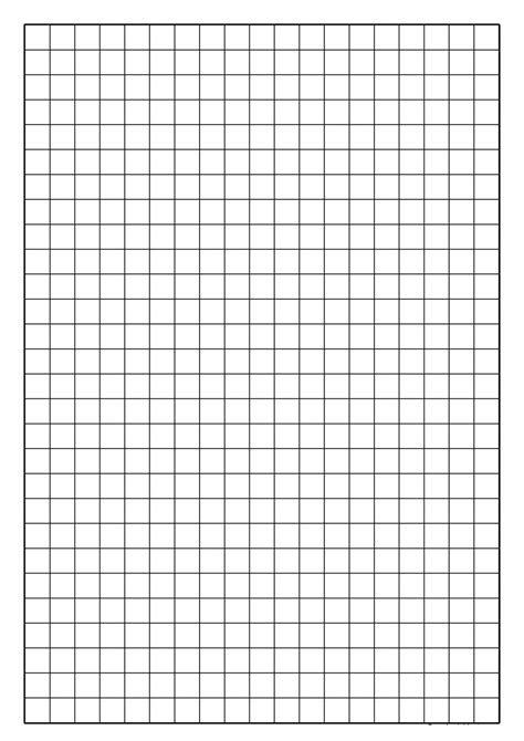 How To Make Graph Paper In Word 2010 - 30 free printable graph paper templates word pdf
