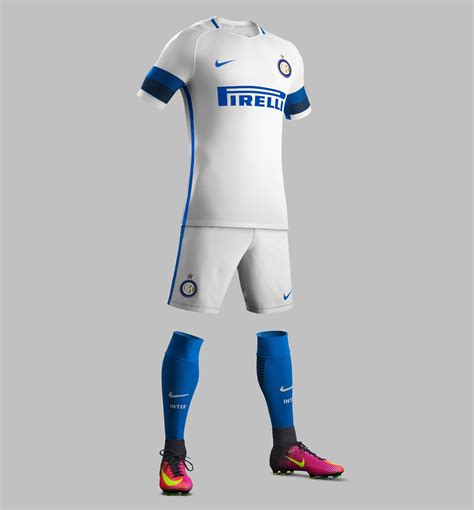 Jumpsuit Inter Milan Away inter milan 16 17 away kit released footy headlines