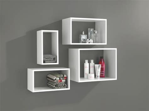 Floating Wall Shelves White Tips To Decorate A Room With White Floating Shelves