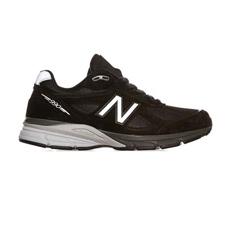 Sneakers Cewe New Balance lyst new balance m 990 bk4 sneakers in black for