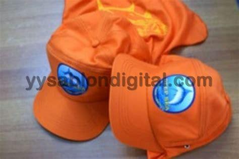 Sablon Topi Custom Tulisan Free Stiker Desain Topi sablon topi sablon digital tanpa minimal order bisa pesan satu saja