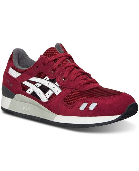 asic sneakers for mens asics s gel lyte iii casual sneakers from finish line