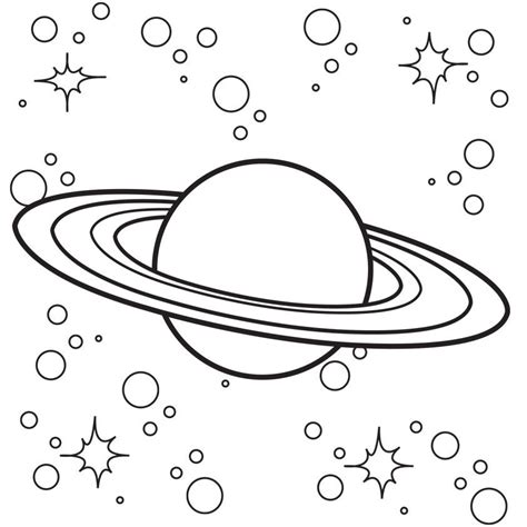 outer space coloring page az coloring pages