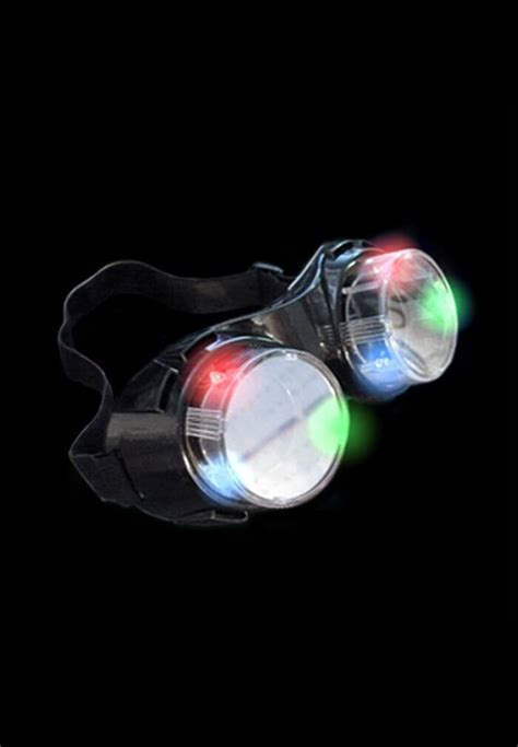 Light Cyber Light Up Led Cyber Goggles Raveready
