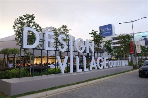home design and outlet center design village premium outlet mall bandar cassia batu