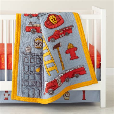 Firefighter Crib Bedding Baby Bedding Firefighter Crib Bedding Cadet Crib Quilt