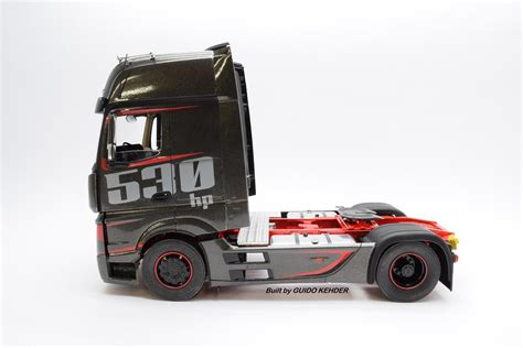 mercedes actros mp racing   die leitplanke