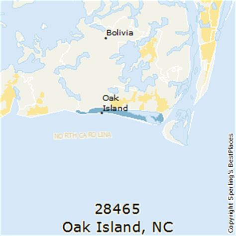 map of oak island carolina best places to live in oak island zip 28465 carolina