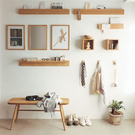 Etagere 75 Cm by Etagere Murale 88 Cm Frene Naturel No Place Like Home