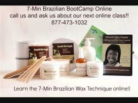 self brazilian wax tutorial sugaring professional 11 minute wax speed sugaring full