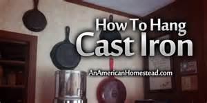 how to hang pictures how to hang cast iron on a wall an american homestead living off grid in the ozark mountains