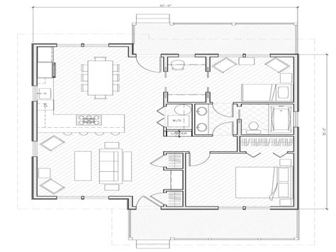 floor plans 1000 square feet small house plans under 1000 sq ft simple small house