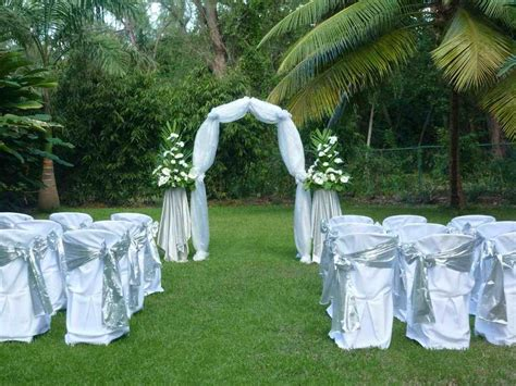 Garden Wedding Ideas Decorations Diy Outside Wedding Decorations Siudy Net
