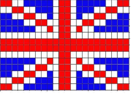 crochet pattern union jack union jack knitting pattern loom knitting pinterest