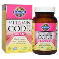Garden Of Vitamins Garden Of Vitamin Code B 12 30 Vegan Caps