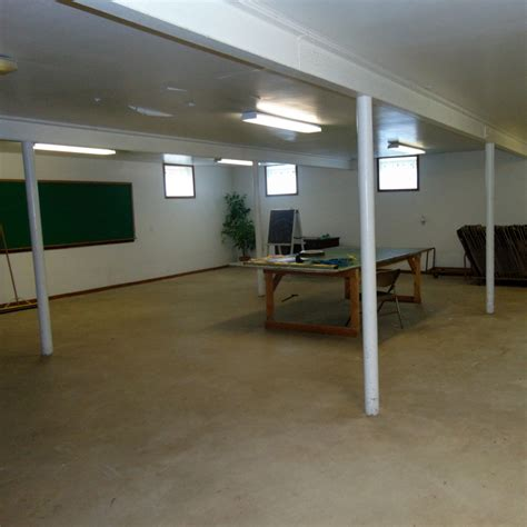 school begins in corner of church basement properties of