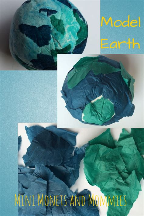 Mini Monets And Mommies Model Magic And Tissue Paper Planet Coloring Pages With The 9 Planets