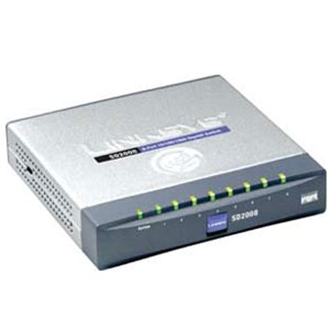 Switch Hub 8 Port Cisco cisco sd2008 8 port 10 100 1000 gigabit desktop switch at tigerdirect