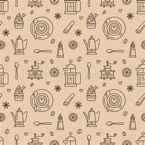 vector coffee shop background free vector download 46 902 free seamless pattern of coffee vector background repeated