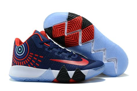 most popular basketball shoes most popular nike kyrie irving 4 navy blue white
