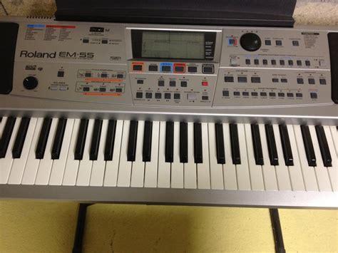 Keyboard Roland Em55 roland em 55 image 754139 audiofanzine