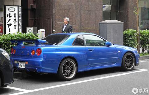 R 34 Nissan Skyline by Nissan Skyline R34 Gt R 10 Junio 2017 Autogespot