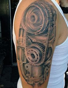 60 piston tattoo designs for men unleash high horsepower