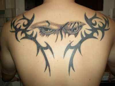 upper back tribal tattoos for men idealistic politics tattoos for on back