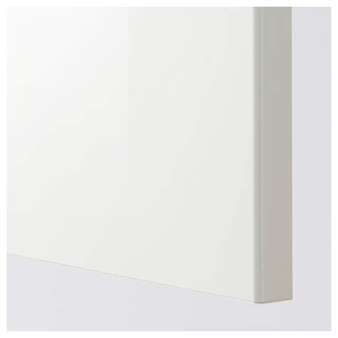 Ikea High Gloss Kitchen Cabinet Doors Ringhult Door High Gloss White 60x80 Cm Ikea