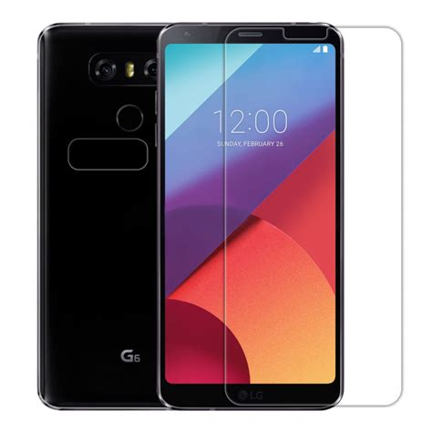 Ume Tempered Glass Screen Protector For Lg G6 Transparan nillkin amazing h pro tempered glass screen protector for