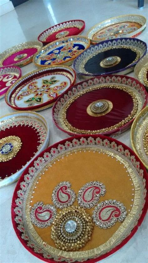 Puja thali  Vrishti Creations ph 9669207565 , 9826116090