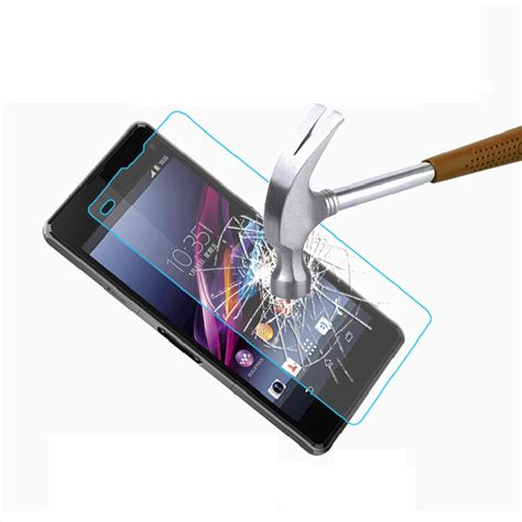 Tempred Glass Sony Experia Z1 front back tempered glass screen protector for sony xperia z1 compact ebay